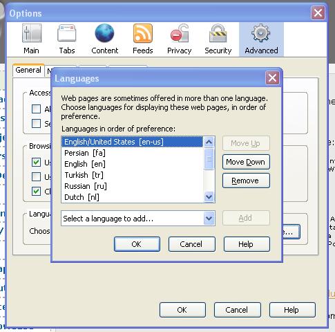 how to set windows language