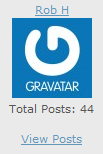 a screen shot of a generic gravatar