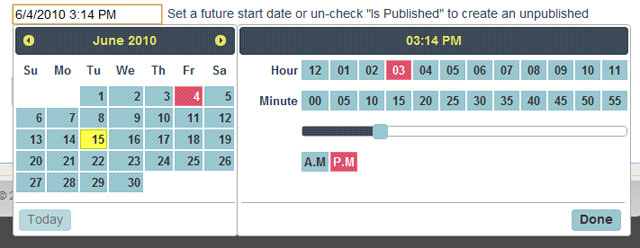 jquery date time picker