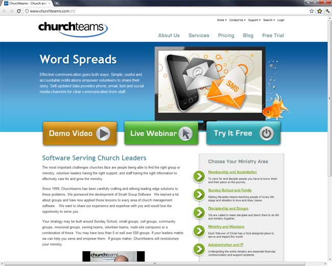ChurchTeams.com