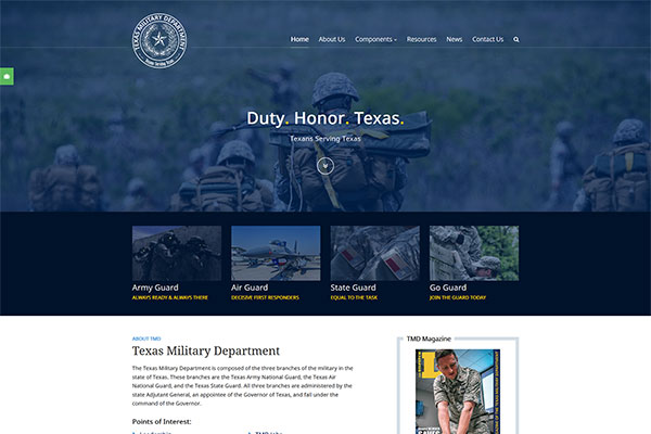 Texas Military Deparment