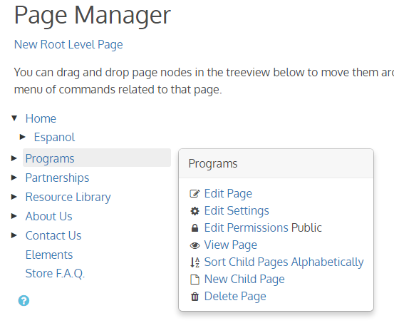Page Manager Pro for mojoPortal CMS