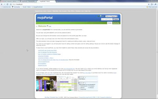 mojoPortal - Using the Content Workflow Approval Process